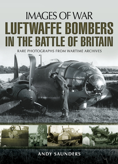 Luftwaffe Bombers in the Battle of Britain - cover
