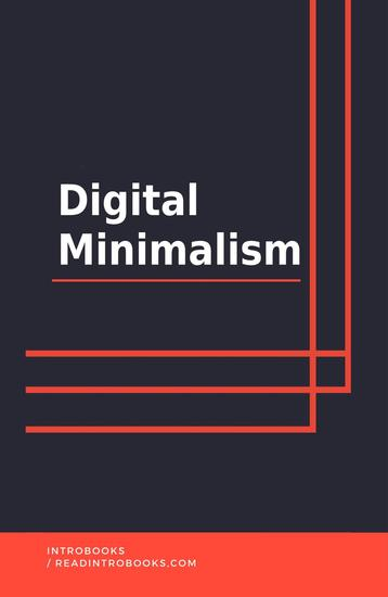 Digital Minimalism - cover