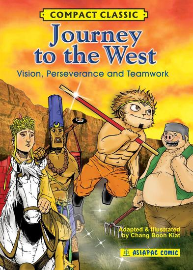 Journey to the West: Vision Perseverance and Teamwork - Compact Classic - cover