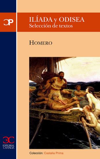 Ilíada y Odisea (CP 30) - Selección de textos - cover