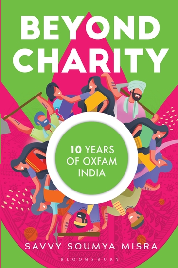Beyond Charity - 10 Years of Oxfam India - cover