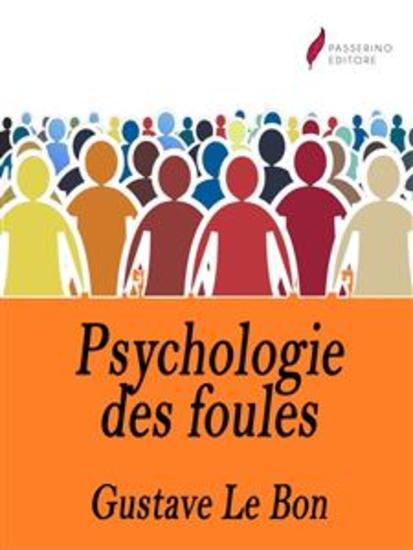 Psychologie des foules - cover