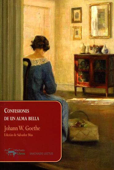 Confesiones de un alma bella - cover