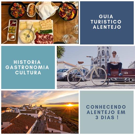 Guia Turistico Alentejo - Como conhecer o Alentejo em 3 dias - cover