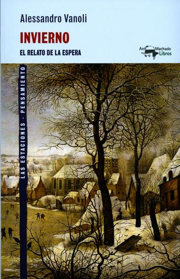 Invierno - El relato de la espera - cover