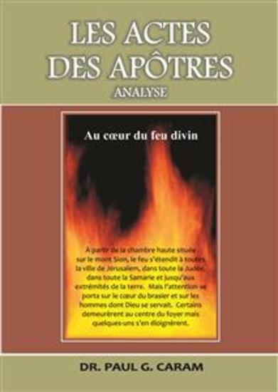 Les actes des apôtres - cover