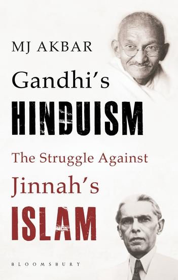 Gandhi's Hinduism the Struggle against Jinnah's Islam - cover