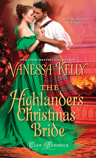 The Highlander's Christmas Bride - cover