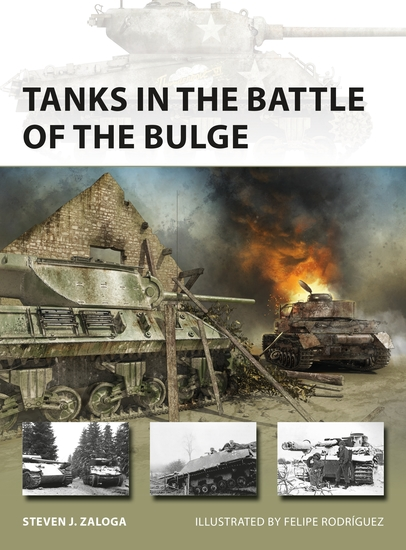 Tanks in the Battle of the Bulge - cover