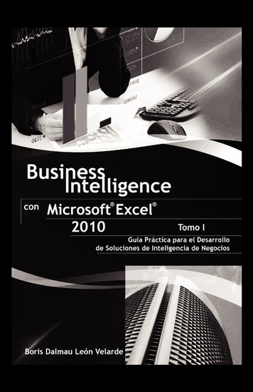 Business Intelligence con Microsoft® Excel® 2010 (Tomo I) - cover