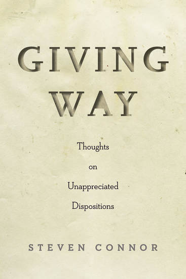 Giving Way - Thoughts on Unappreciated Dispositions - cover