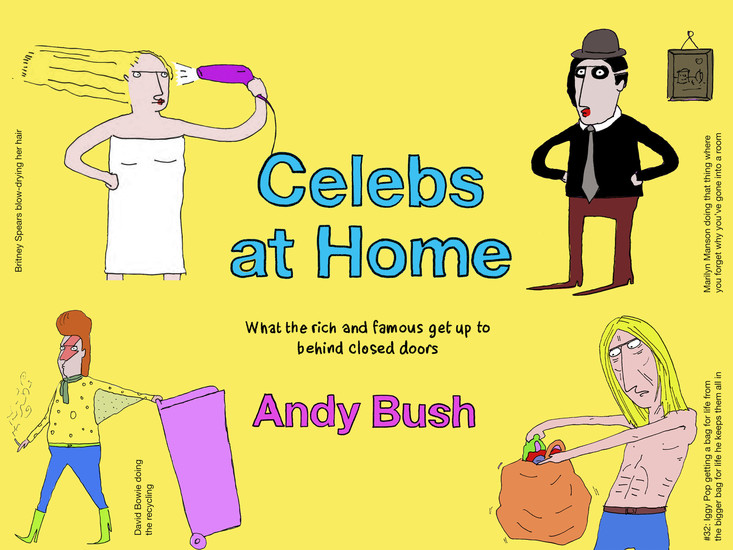 Celebs At Home - cover