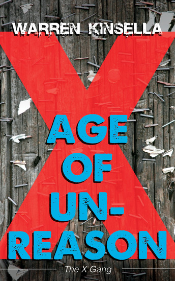 Age of Unreason - The X Gang - cover