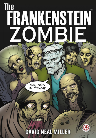 The Frankenstein Zombie - cover