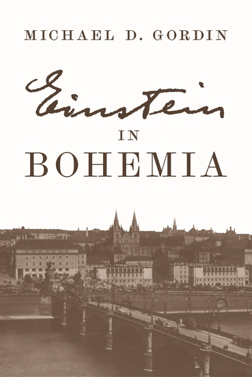 Einstein in Bohemia - cover