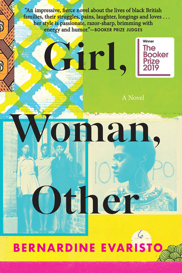 Girl Woman Other - A Novel (Booker Prize Winner) - cover