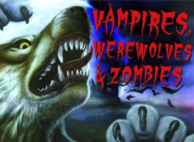 Vampires Werewolves & Zombies - cover