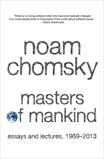 Masters of Mankind - Essays and Lectures 1969-2013 - cover