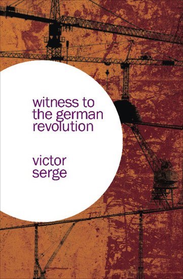 Witness to the German Revolution - cover