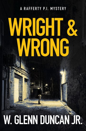 Wright & Wrong - A Rafferty PI Mystery - cover