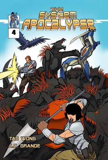 System Apocalypse Issue 4 - System Apocalypse Comics #4 - cover