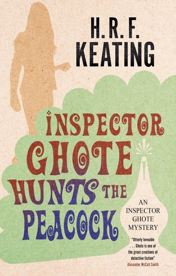 Inspector Ghote Hunts the Peacock - cover