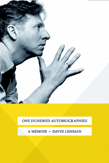 One Hundred Autobiographies - A Memoir - cover