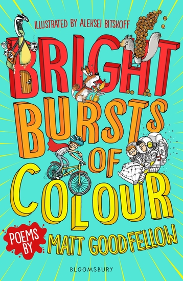 Bright Bursts of Colour - cover