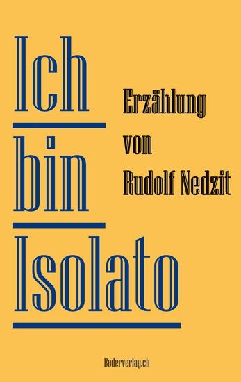 Ich bin Isolato - Erzählung - cover