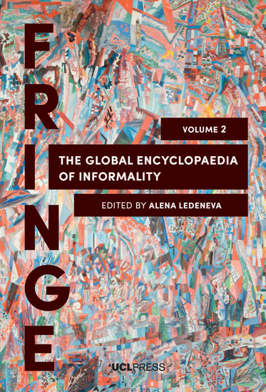 The Global Encyclopaedia of Informality Volume 2 - Understanding Social and Cultural Complexity - cover