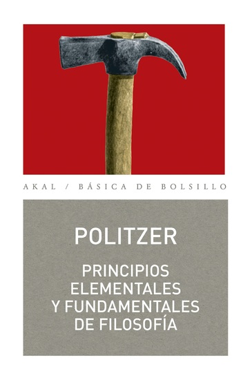 Principios elementales y fundamentales de filosofía - cover