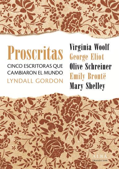 Proscritas - Cinco escritoras que cambiaron el mundo - cover
