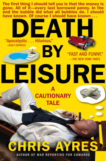 Death by Leisure - A Cautionary Tale - cover