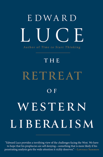 The Retreat of Western Liberalism - cover