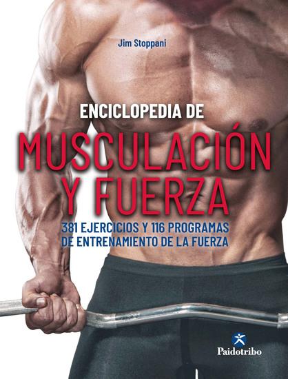 Enciclopedia de musculación y fuerza - cover