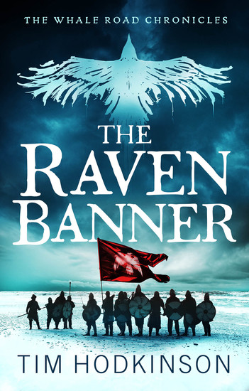 The Raven Banner - A fast-paced action-packed historical fiction novel - cover