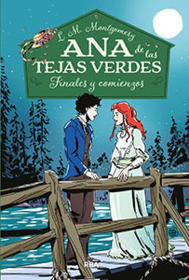 Finales y comienzos - Ana de las tejas verdes #6 - cover