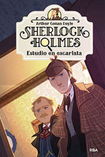 Sherlock Holmes #1 Estudio en escarlata - cover
