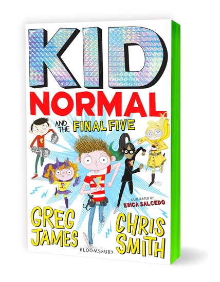 Kid Normal and the Final Five: Kid Normal 4 - cover