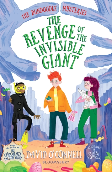 The Revenge of the Invisible Giant - cover