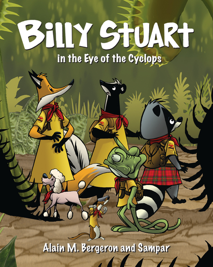 Billy Stuart in the Eye of the Cyclops - cover