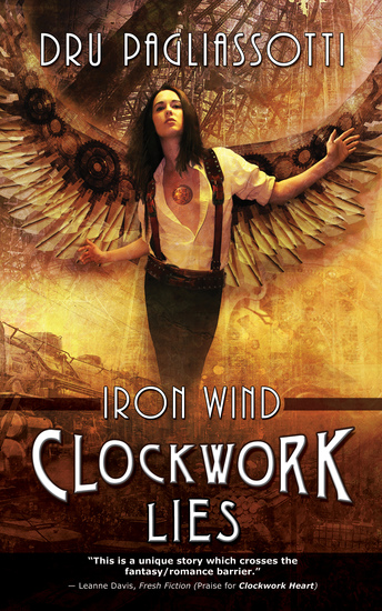 Clockwork Lies - Iron Wind - cover
