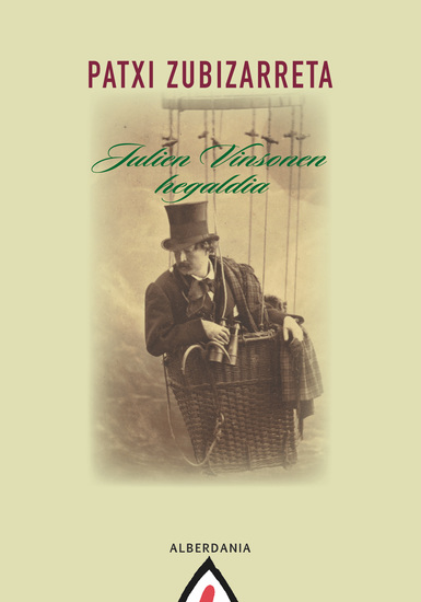 Julien Vinsonen hegaldia - cover