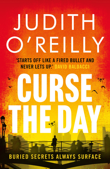 Curse the Day - The Conspiracy Thriller that Reads Like a Bond Movie - cover
