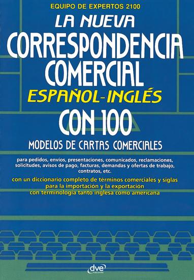 La nueva correspondencia comercial español - inglés - cover