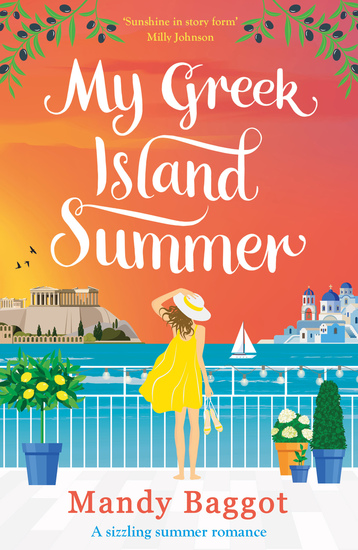 My Greek Island Summer - a laugh-out-loud romantic comedy - cover