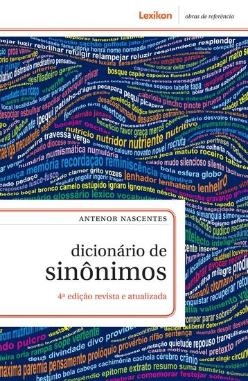 Dicionário de sinônimos - cover