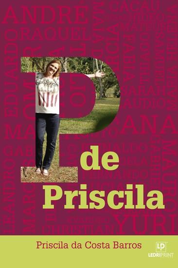 P de Priscila - cover