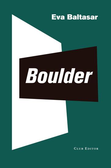 Boulder - cover
