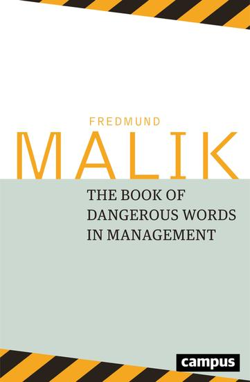 The Book of Dangerous Words in Management - cover